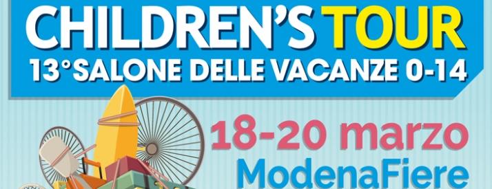 Header Children's tour ModenaFiere 2016